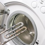 Washing-Machine Heater limescale damage